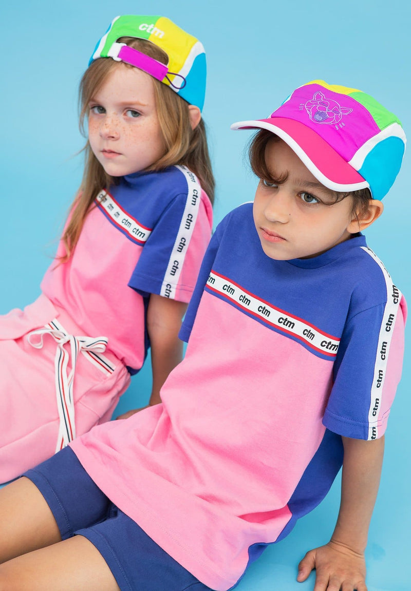Cooler-Than-Mom Vivid Color Block Cap on moomooz