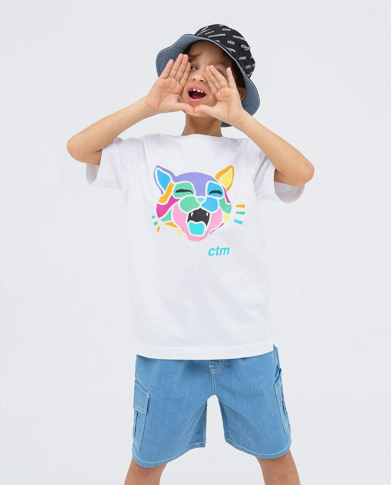 [Out of Stock] Neon Kitty T-Shirt