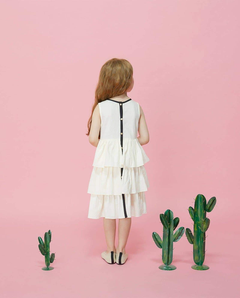 Creamy Clouds Dress