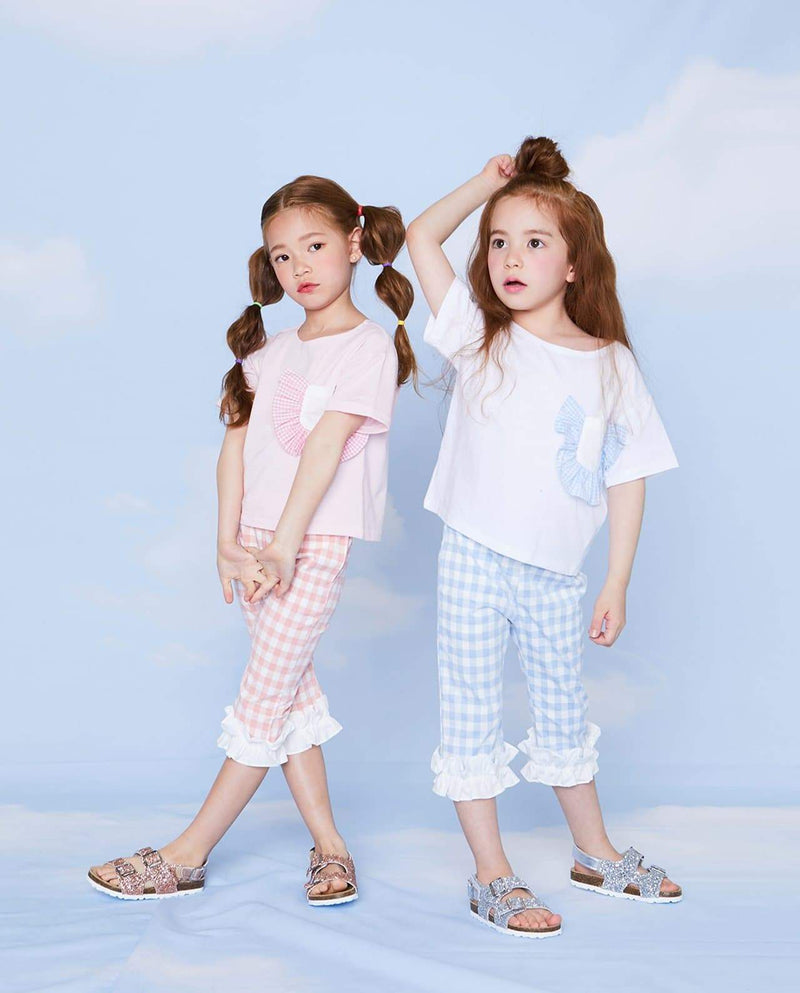 [Out of Stock] Daisy Ruffled Pants