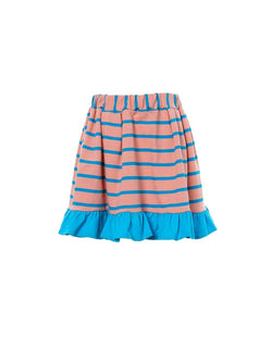[Out of Stock] Melon Striped Skirt