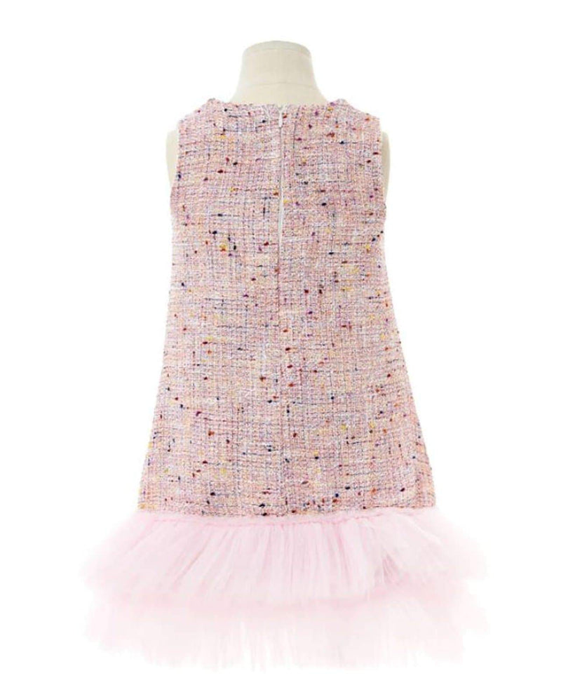 [Out of Stock] Twinkle Tweed Dress