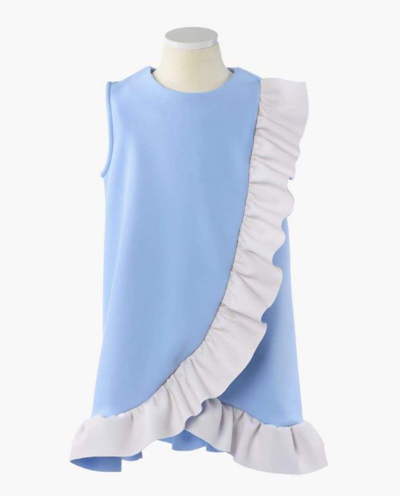 [Out of Stock] Petals Overlay Dress