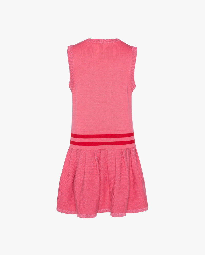 [Out of Stock] Sleeveless Flared Sweater Dress
