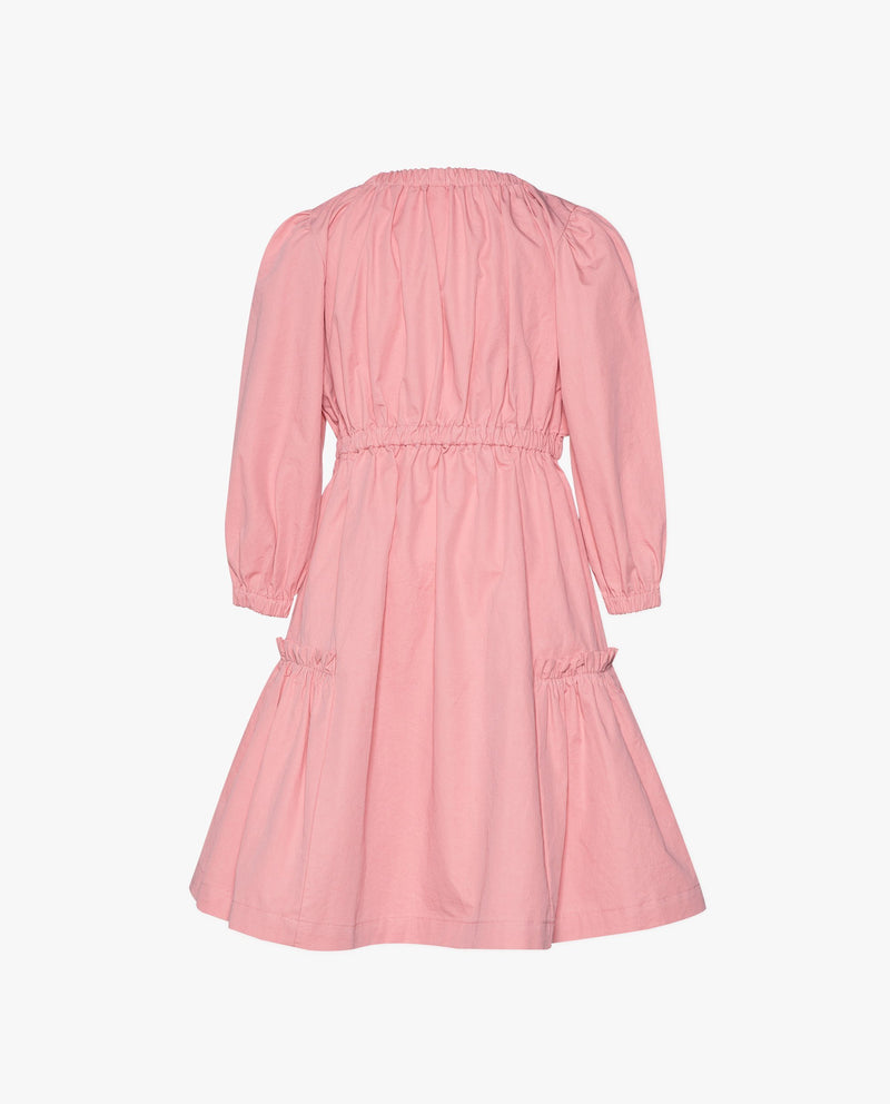 [Out of Stock] Shirred Bow Dress
