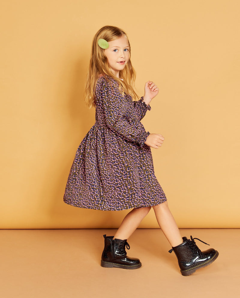 Lady Leopard Dress on MooMooz