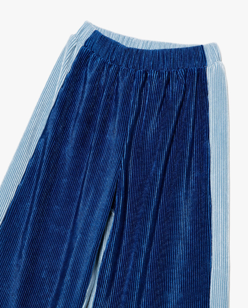 [Out of Stock] Velvet Half and Half Pants