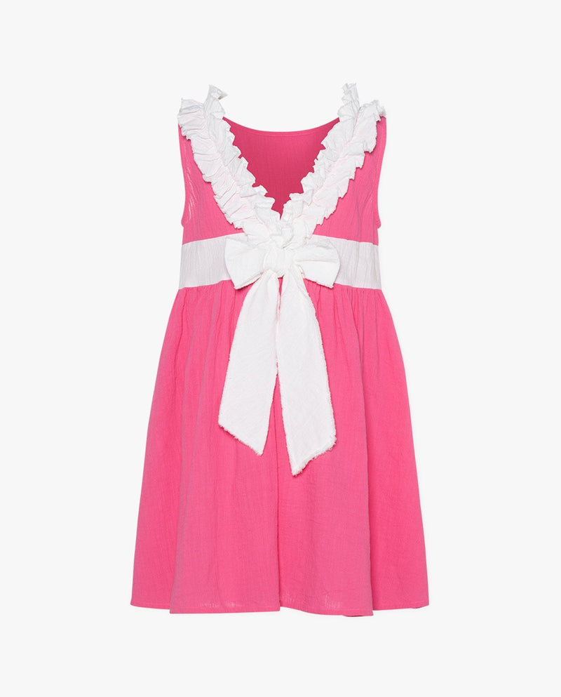 [Out of Stock] Sleeveless V-Neck Sailor Dress