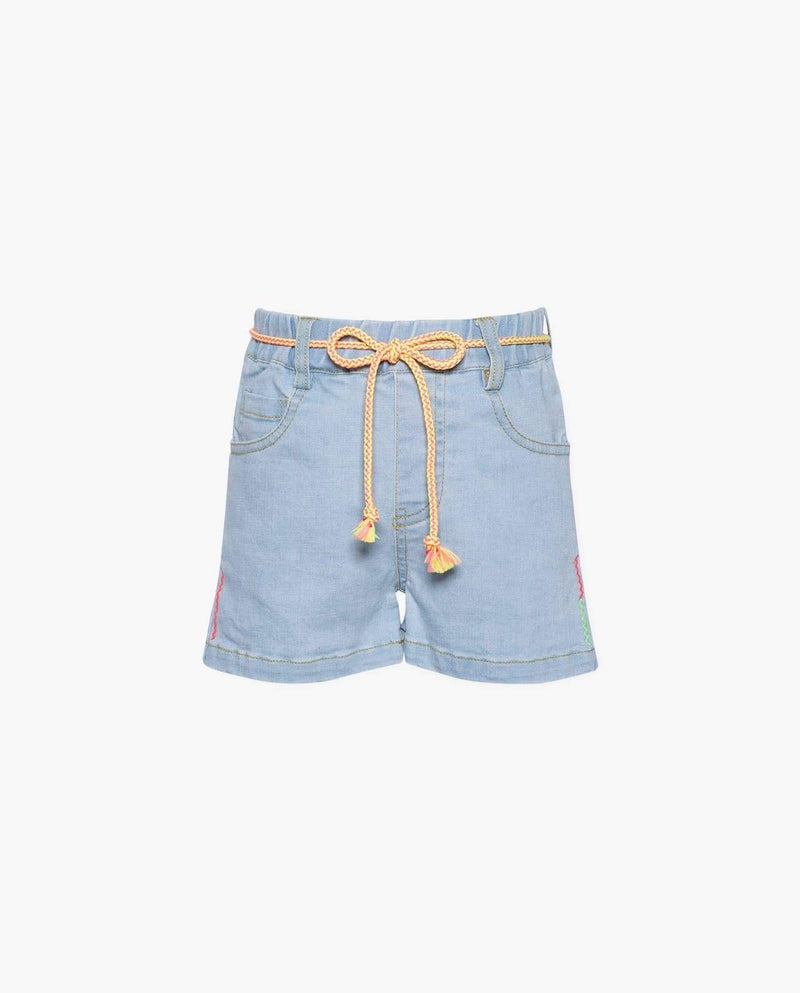 [Out of Stock] Light Wash Denim Shorts