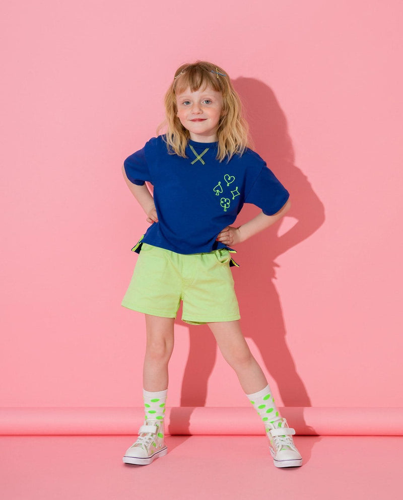 LittleCloset Fruit Cream Shorts on moomooz