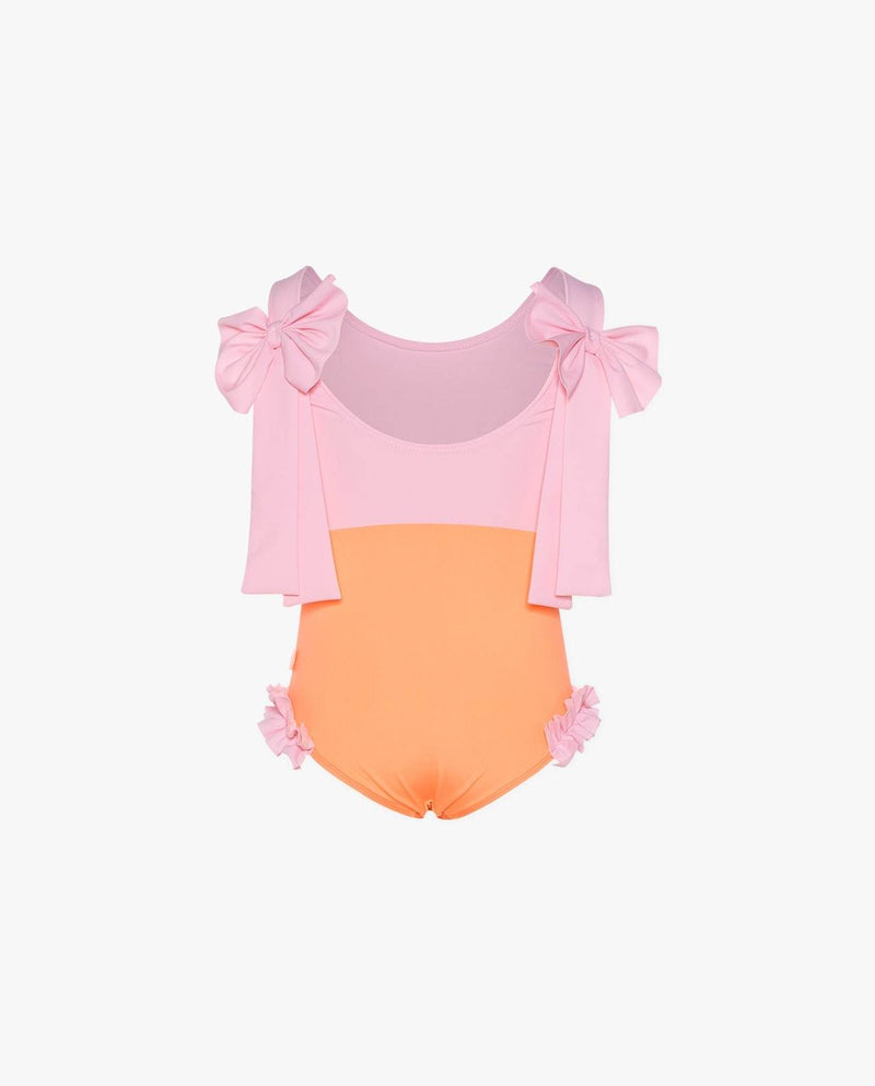 [Out of Stock] Ribbon Pink Swimsuit