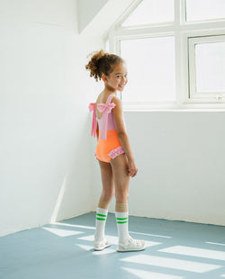 Ribbon Pink Swimsuit
