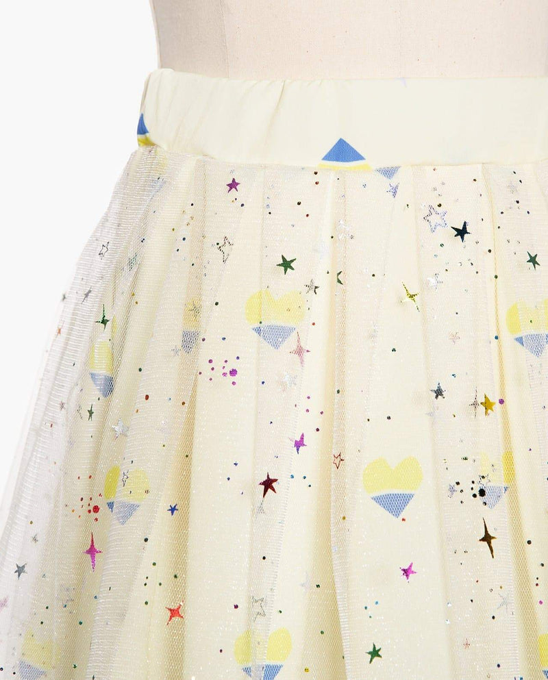 [Out of Stock] Flared Sprinkle Skirt