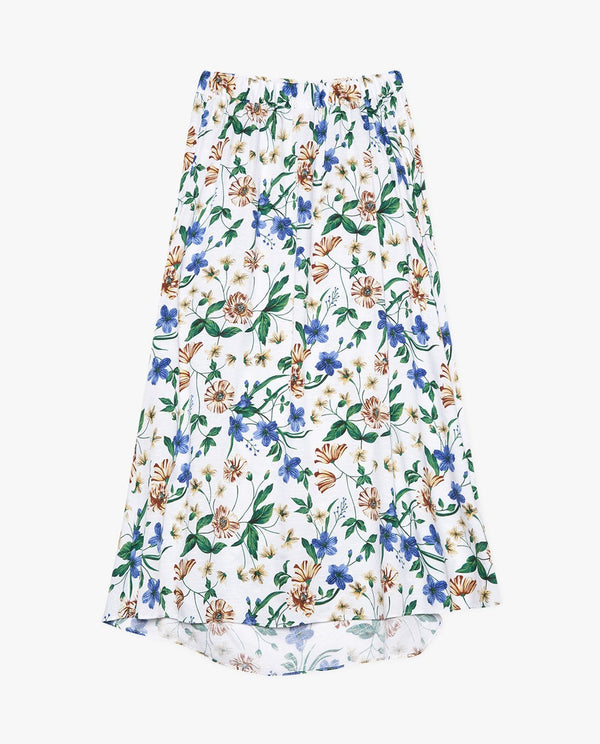 [ADULTS] Summer Floral Ruffle Skirt