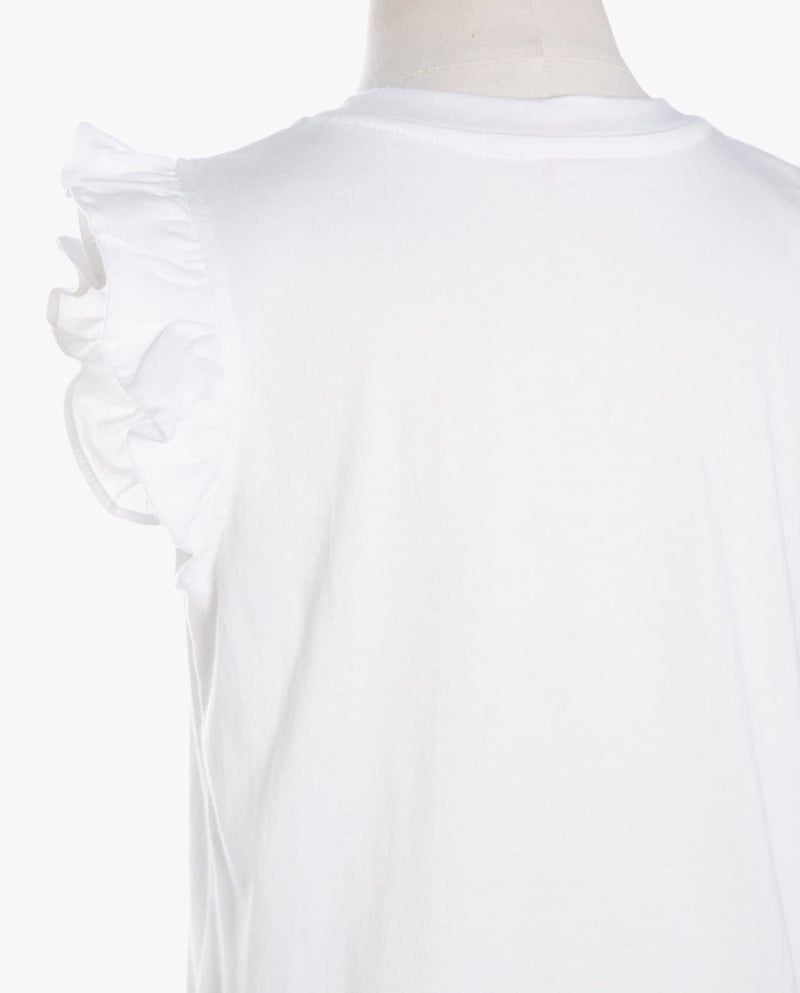 [Out of Stock] Ruffle Sleeve Tank Top