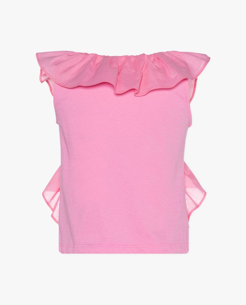 [Out of Stock] Ruffle Front T-Shirt