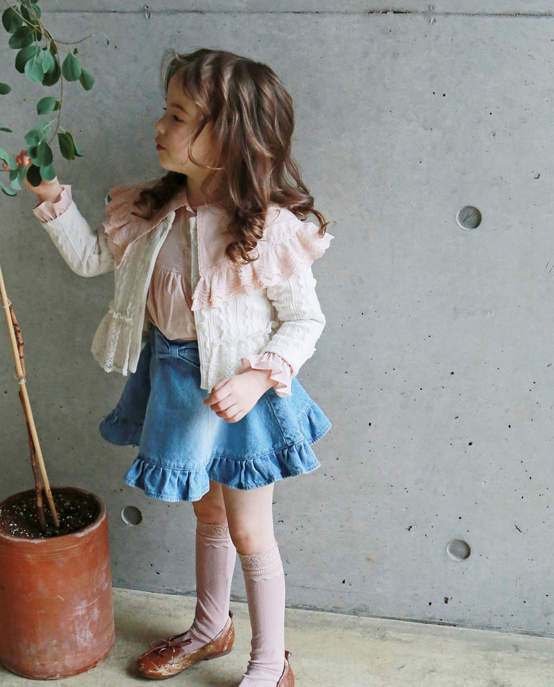 Wide Cape Cardigan on MooMooz
