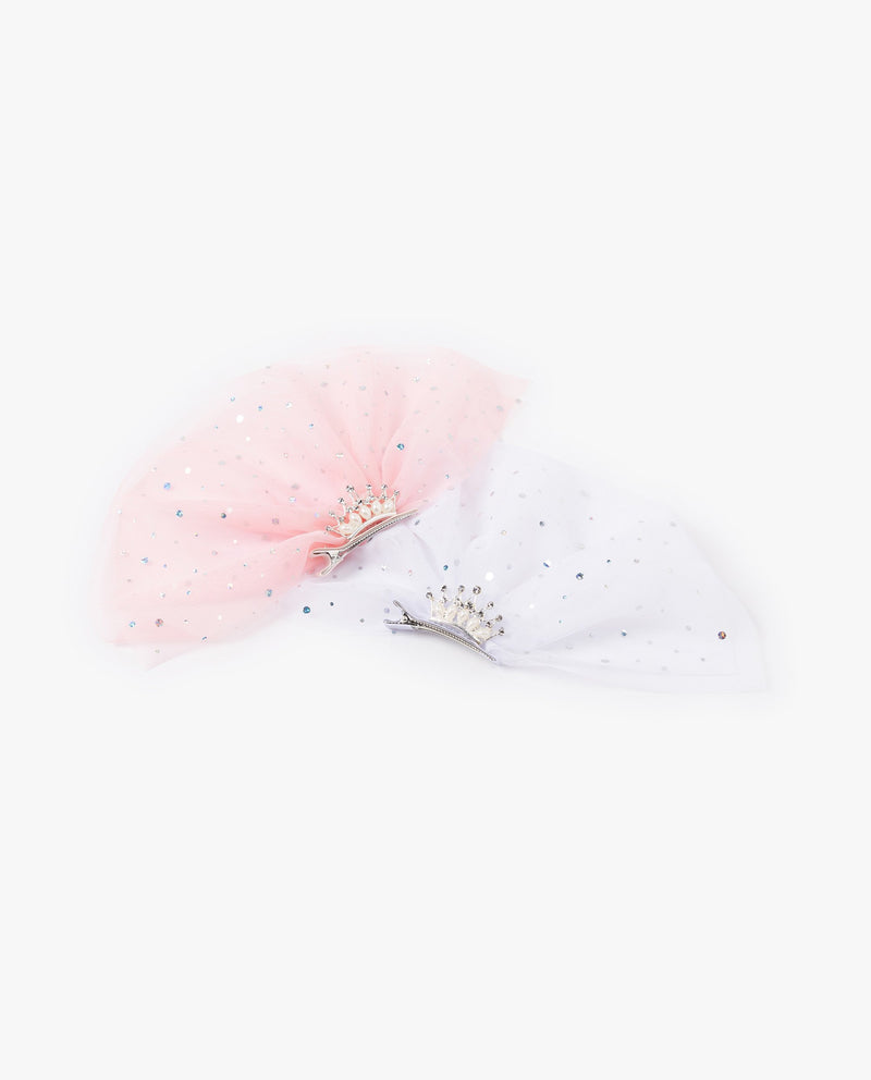 [Out of Stock]Fancy Tulle Patched Crown Hair Pin