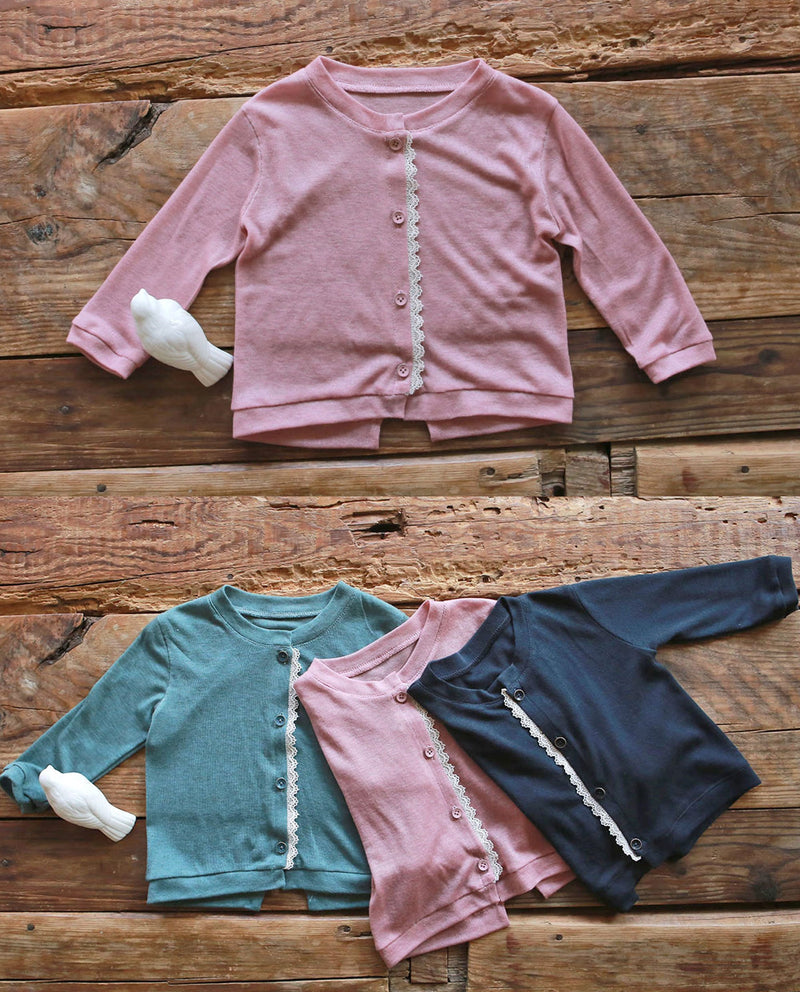[Out of Stock] Tencel Blend Jersey Cardigan
