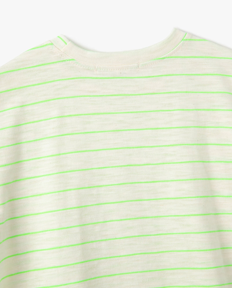 Daily Striped T-Shirt on MooMooz