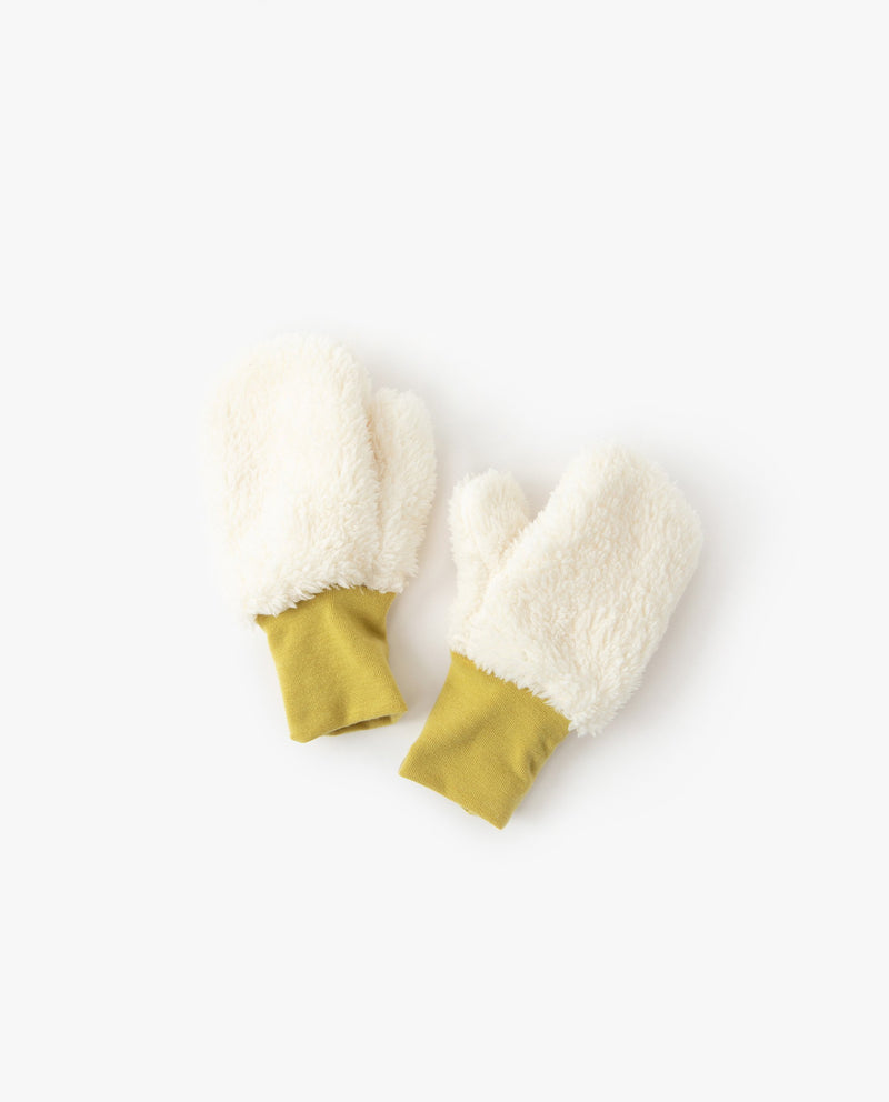 [Out of Stock] Color Block Ribbed Mittens