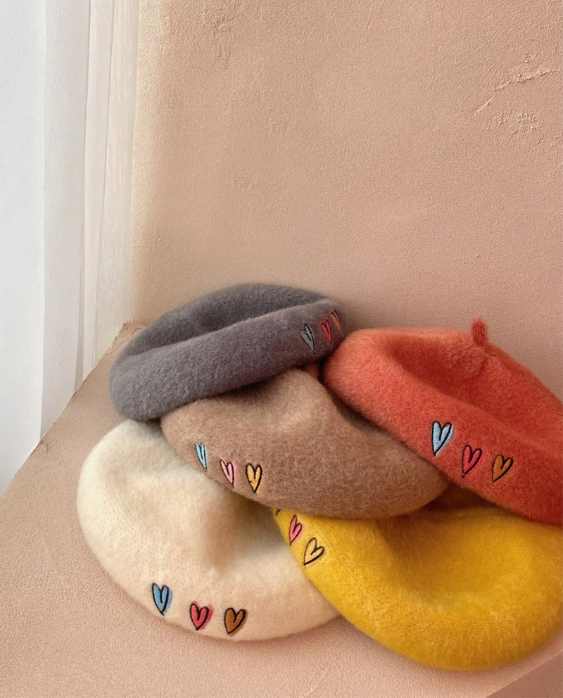 [Out of Stock] Triple Heart Beret