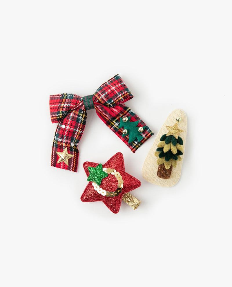 [Out of Stock] [SET] Christmas Hair Accessory Set