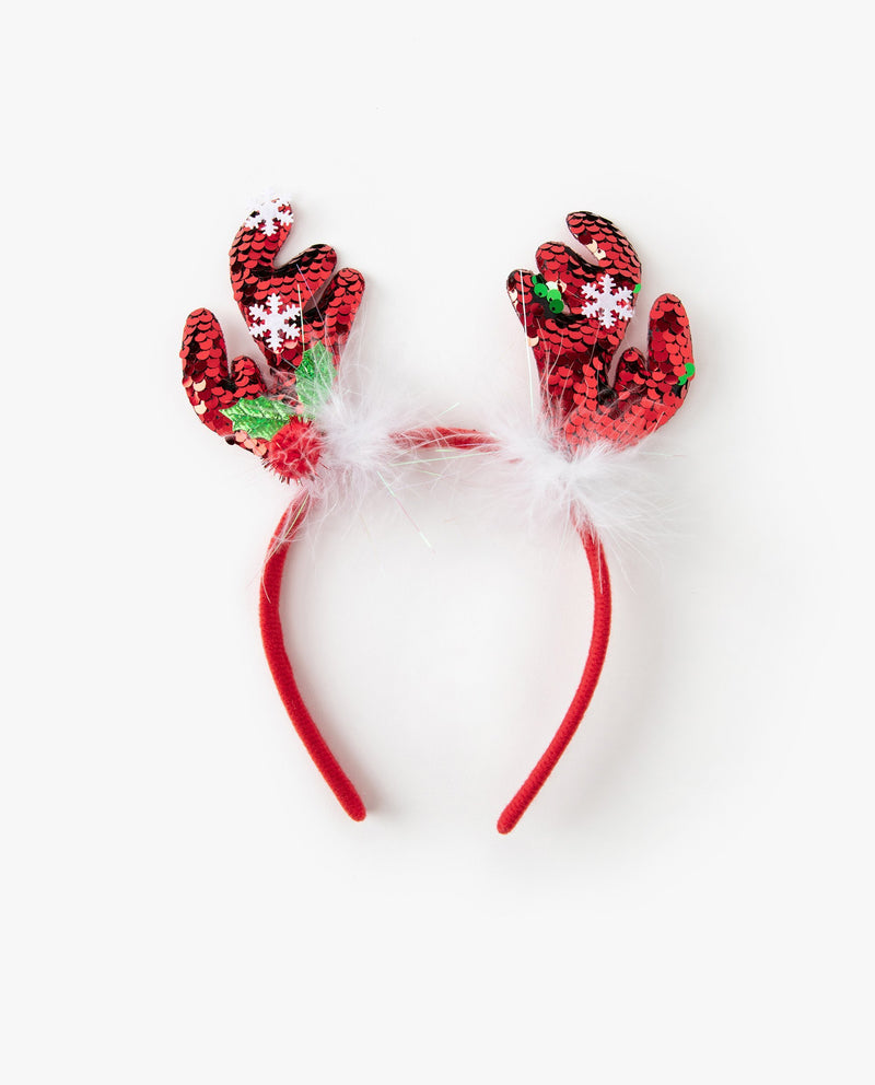 [Out of Stock] Snow Rudolph Headband