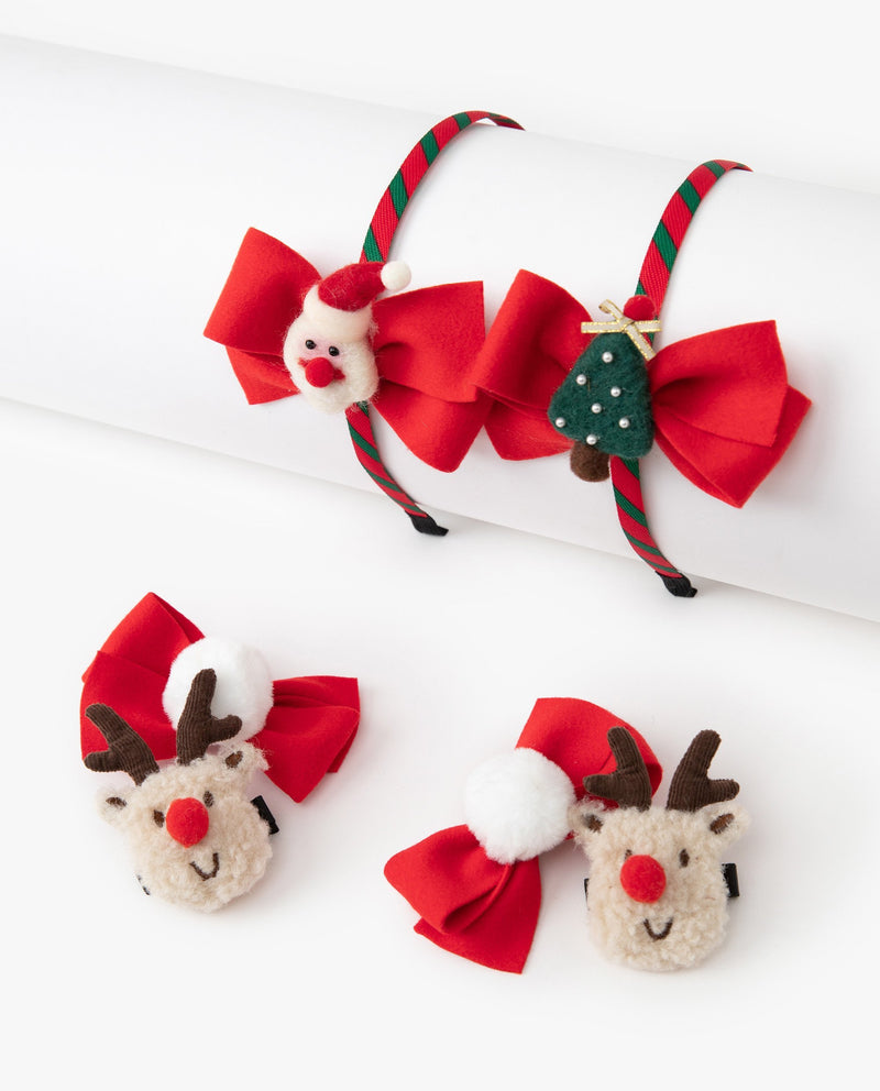 [Out of Stock][SET] Christmas Hair Accessories