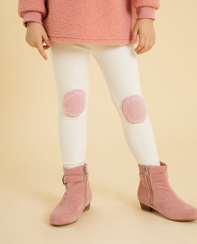 Color Block Knee Cap Leggings on MooMooz