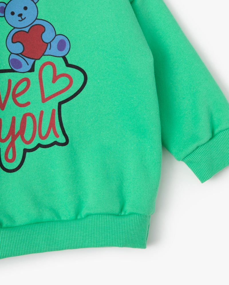 Love You Sweatshirt on MooMooz