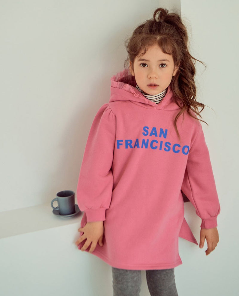 [Out of Stock] San Francisco Hoodie Dress