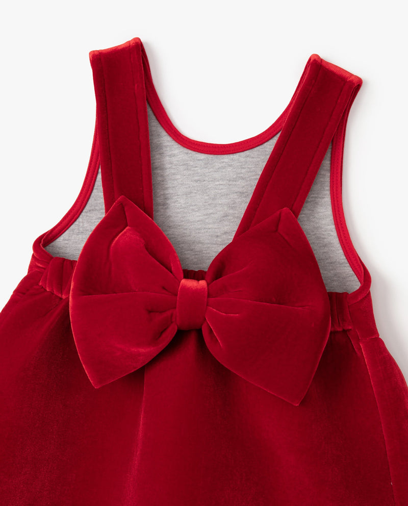 [Out of Stock] Red Rose Neoprene Dress
