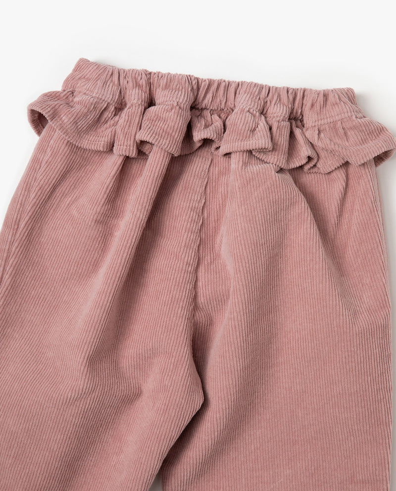 [Out of Stock] Ruffle Patched Pants
