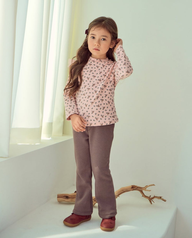 Super Soft Fleece Lined Bootcut Pants on MooMooz