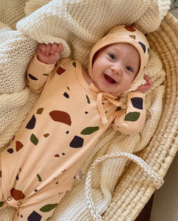[SET] Colorful Stones Loungewear (Baby) on MooMooz