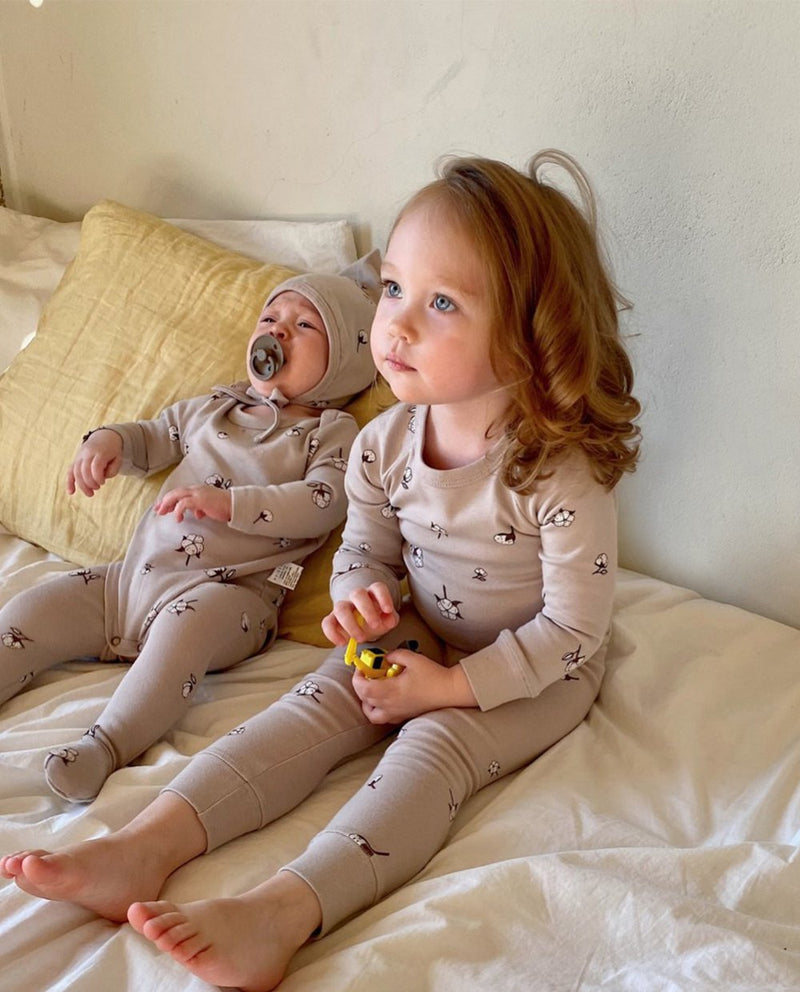 [Out of Stock] [BABY SET] Cotton Bud Loungewear
