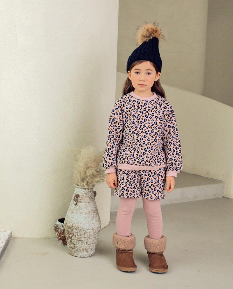 [SET] Leopard Loungewear (Pink) on MooMooz