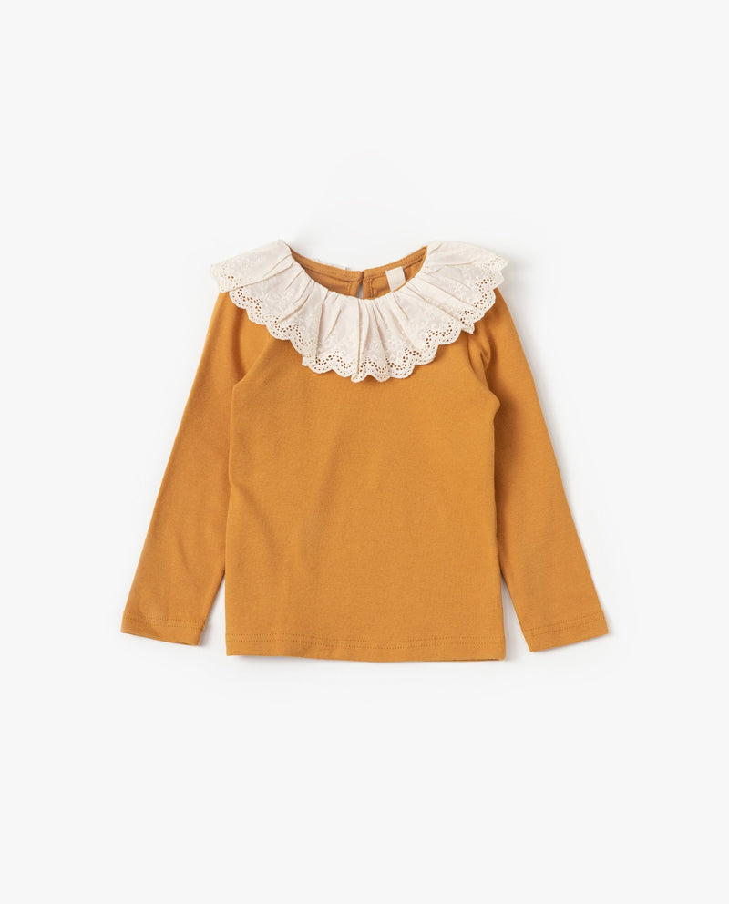 Lace Cape T-Shirt on MooMooz