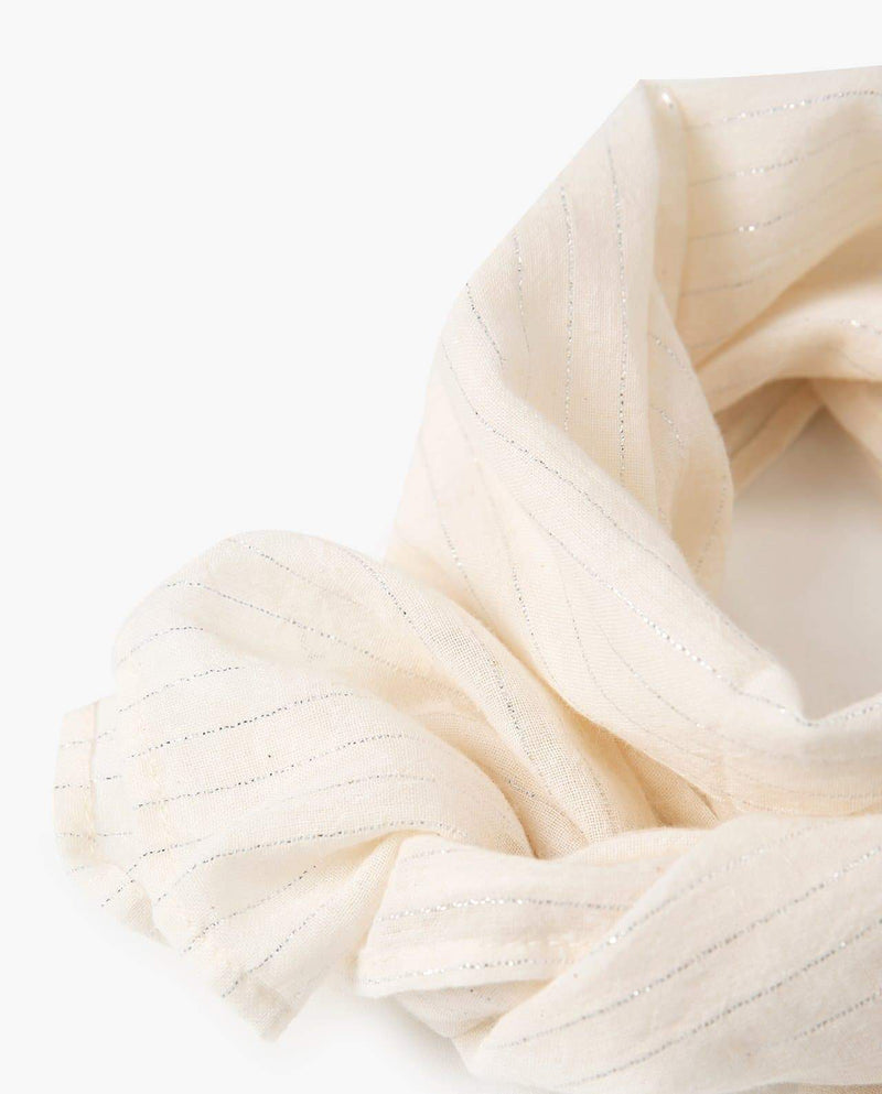 [Out of Stock] Pearly Lined Scarf