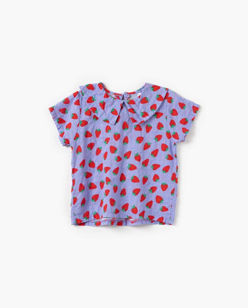 [Out of Stock] Strawberry Print Blouse