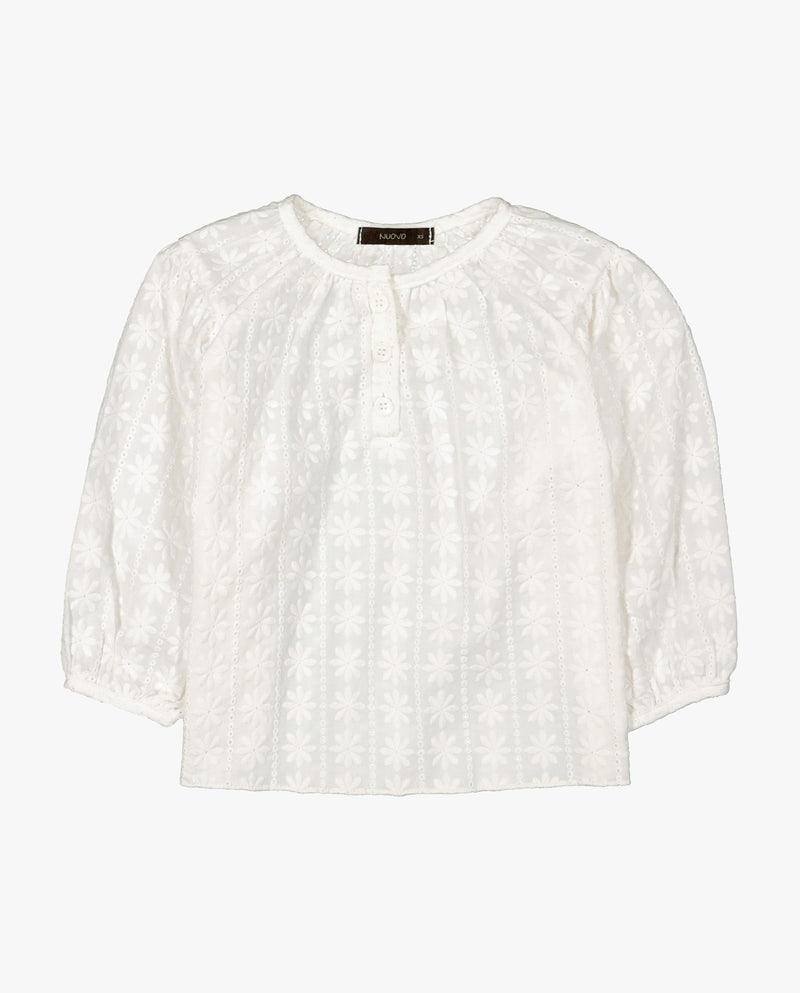 [Out of Stock] Doily Blouse