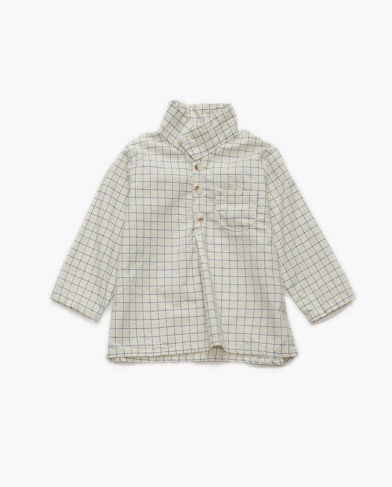 [Out of Stock] Cotton Simple Plaid Shirt