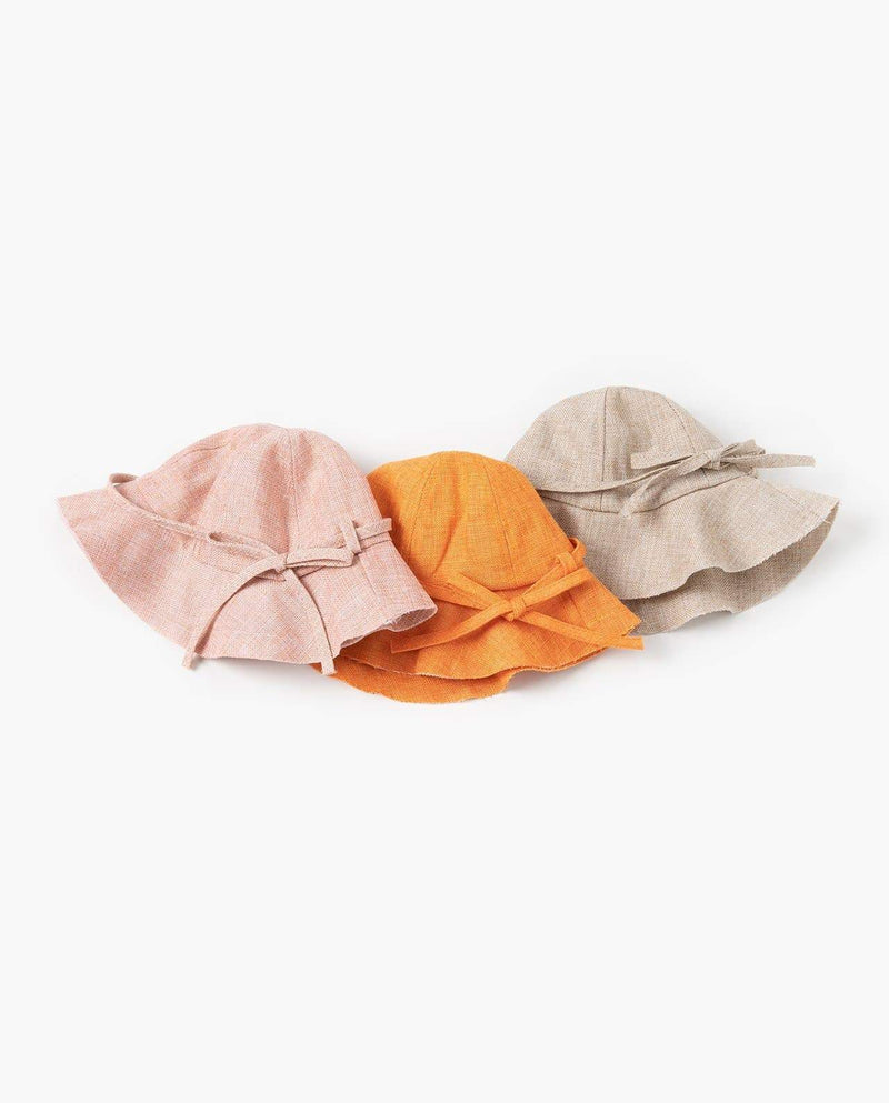 [Out of Stock] Linen Blend Sun Hat