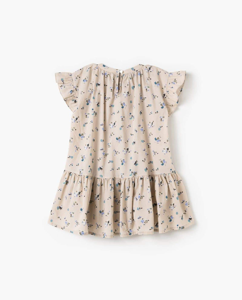 [Out of Stock] Floral Print Summer Flounce Dress