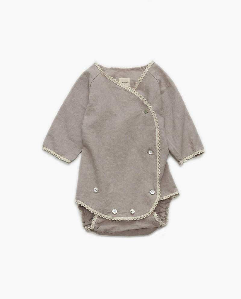 Cotton Wrap Bodysuit