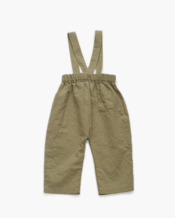 Cool Cotton Suspender Pants