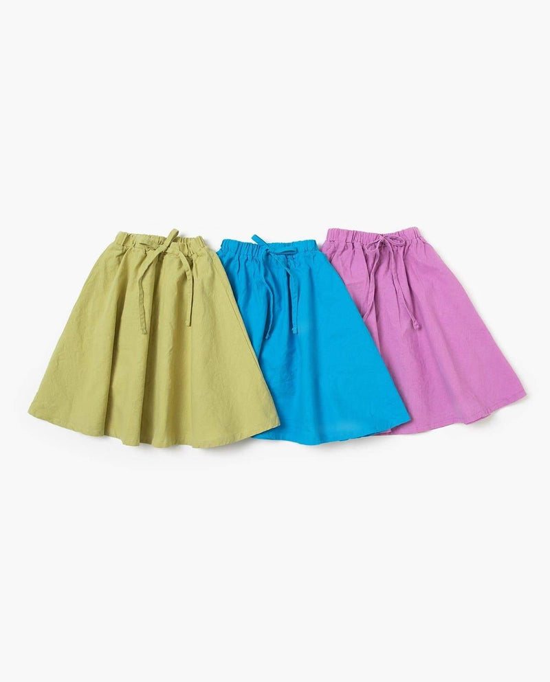 [Out of Stock] Cotton Colored Summer Skirt