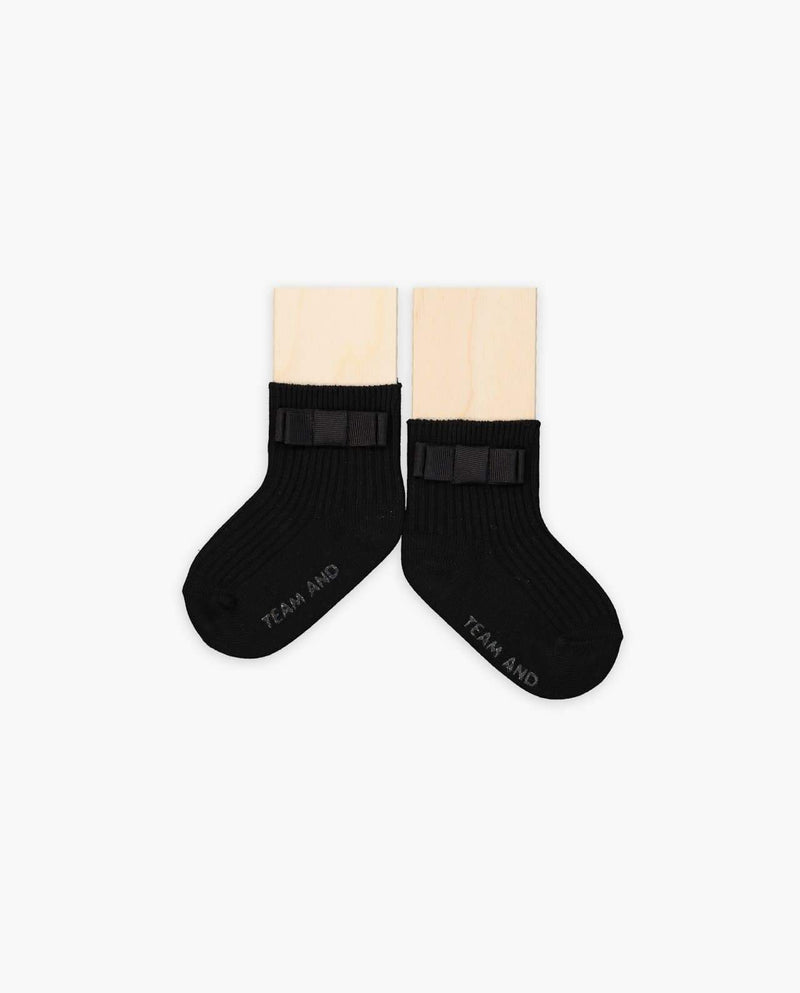 [Out of Stock] Satin Bow Socks