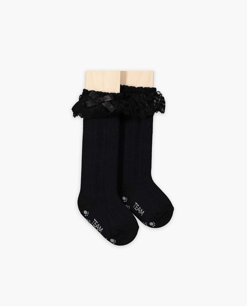 Lacey Bow Socks